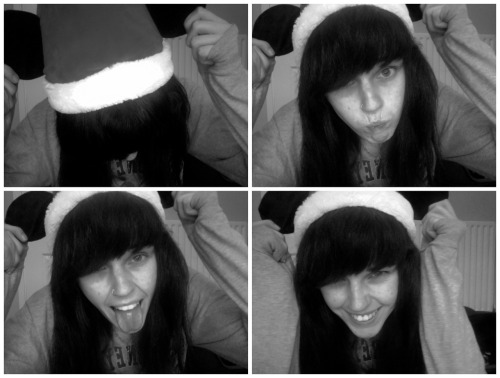 My Santa hat has Mickey ears on it, therefore it is one hundred percent better than your Santa hat. :)