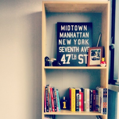 Finally got a bookshelf! #fromdacrib