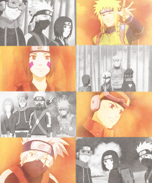 """The most important thing for a shinobi is teamwork!"""