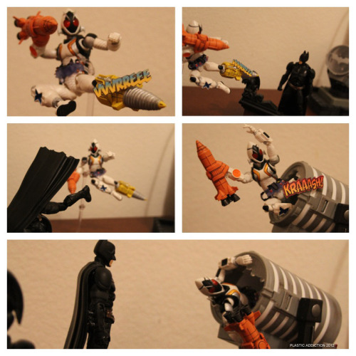 if fourze fought batman…
