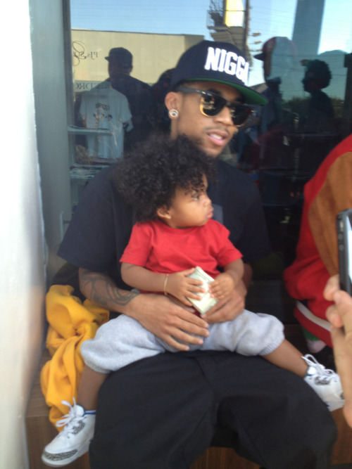 daddywolf24:  Hodgy And Baby Hodgy (:
