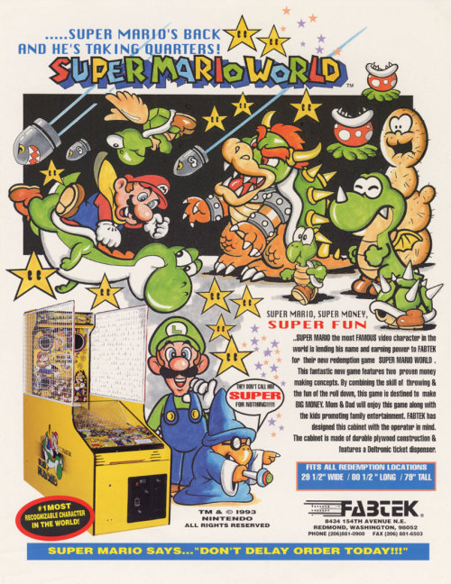 SUPER MARIO, SUPER MONEY, SUPER FUN The green enemies would fit right into the Gusty Gulch from Paper Mario, too.