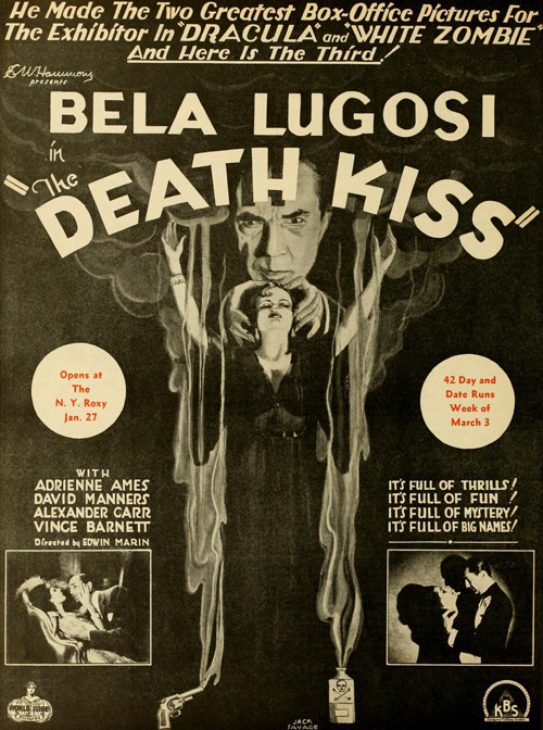 The Death Kiss (1932) Via George Chastain