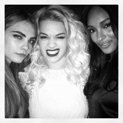 "Cara Delevingne: ""My Ladies Rita Ora, Jourdan Dunn"