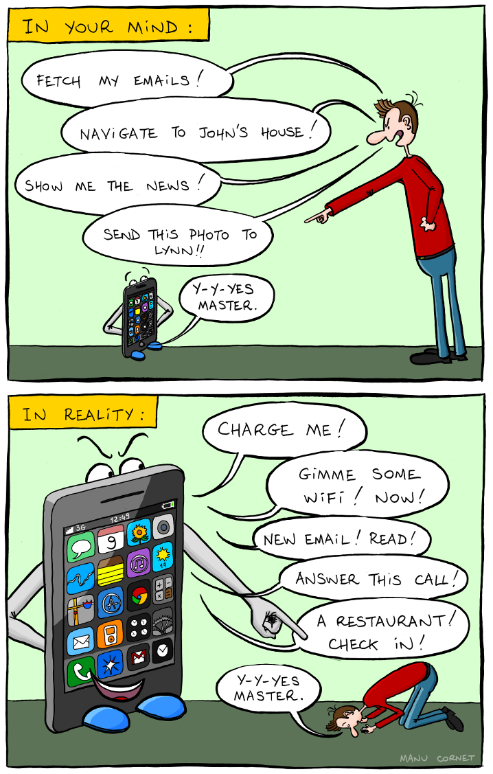 Mobile Relationship (vía Bonkers World)