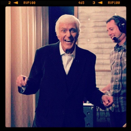 teamcoco:  The legendary Dick Van Dyke. #CONAN (at Warner Bros Stage 15)