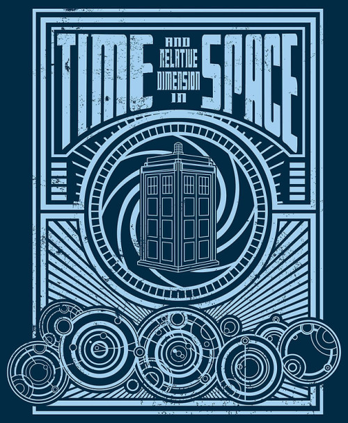"""Time and Space"" T-Shirts & Hoodies by buzatron 