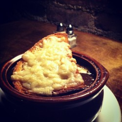French Onion Soup (at Northeast Kingdom)