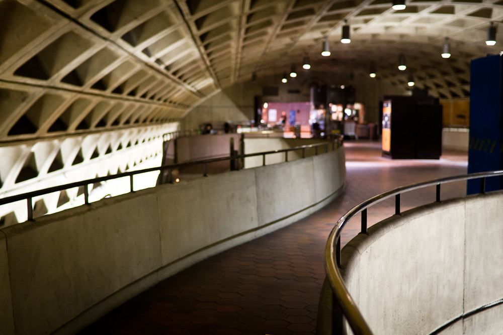 l'enfant plaza station. washington, dc.