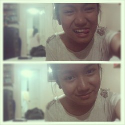 Last night after Eljo's birthday party. Halatang pagod e. =)) #Photos #Personal2012