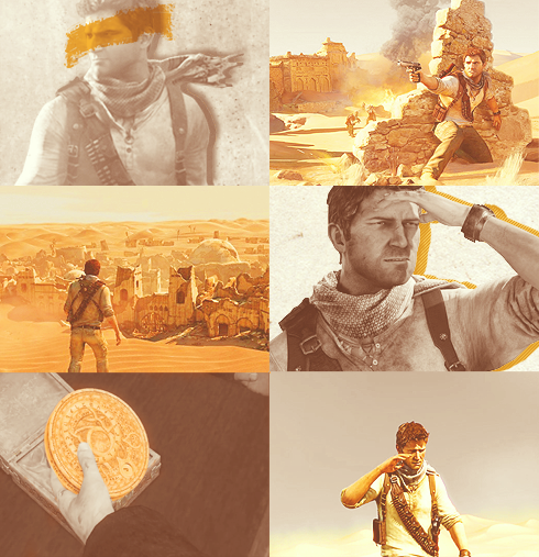 zachillios:  {color meme}: Nathan Drake In Orange
