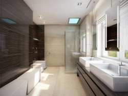 homedesigning:  (via Neutral Wetroom)
