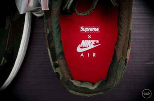Supreme x Nike AF1 on Flickr.