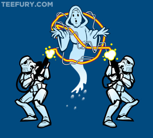 Ghost Troopers by NikHolmes - Sold on November 30th at Teefury USD $10 for 24 hours only Follow the artist on Tumblr