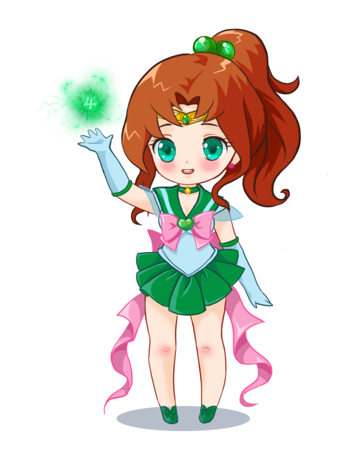 girlsbydaylight:  Sailor Jupiter by ~prywinko