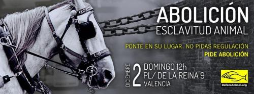 (vía Twitter / Defensa_Animal: Este domingo convocamos un …)