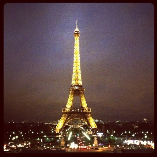 Missing you already Paris!  (at Parvis du Trocadéro)