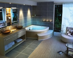 homedesigning:  Beautiful Bathroom Ideas from Pearl Baths