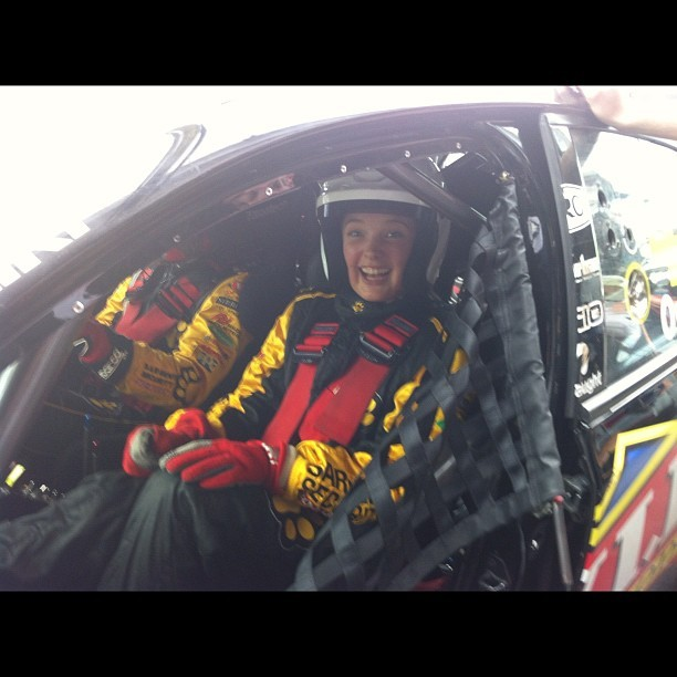 After my hot laps with Steve Owen at the Sydney 500!