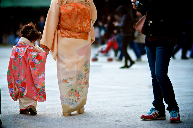 japanlove:   a tiny little lady by sinkdd on Flickr.