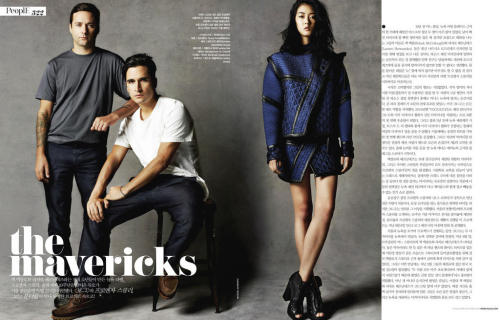 Jack and Lazaro for Vogue Korea.  Can anyone translate this or has it and can translate? thanks! xx