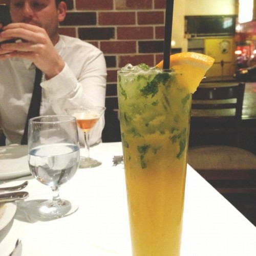 Brazilian mojito (at Espetus Churrascaria Brazilian Steak House)