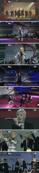 # B.A.P# No Mercy & Crash 2012MAMA