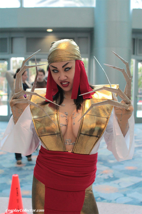 dtjaaaam:  Lady Deathstrike - WonderCon 2012 The Reavers are on the hunt for Wolverine.