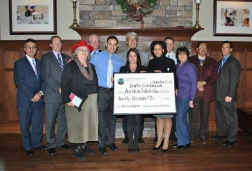 Mashantucket Pequot Tribal Nation Donates $40,000 to Help fight Diabetes In this season of giving, the Mashantucket Pequot Tribal Nation has donated $40,000 to help fight a deadly disease—diabetes—that afflicts more than 350 million people worldwide and is prevalent among American Indians and Alaska Natives.