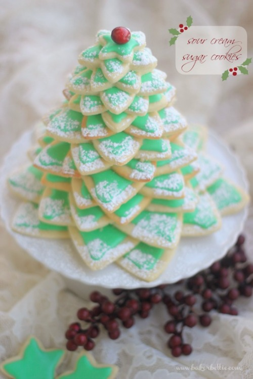 prettylittlepieces:  Sour Cream Sugar Cookies
