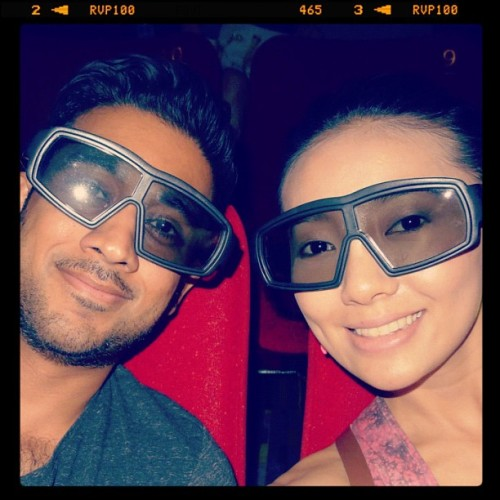 'Life of Pi' on 3D IMAX was magical. No other way to watch Pi's journey come to life. Only at @TGVCinemas !  So nice to cry at movies , kan @ashnair ? Loved every bit of it. I haven't been this excited about a movie in awhile and I feel that Ang Lee really did the book justice. It's one of those books you'll never forget reading. To watch the vivid images that have been imbedded in my mind come to life was really an awesome experience! ❤❤❤ #IMAX #TGV #LifeOfPi