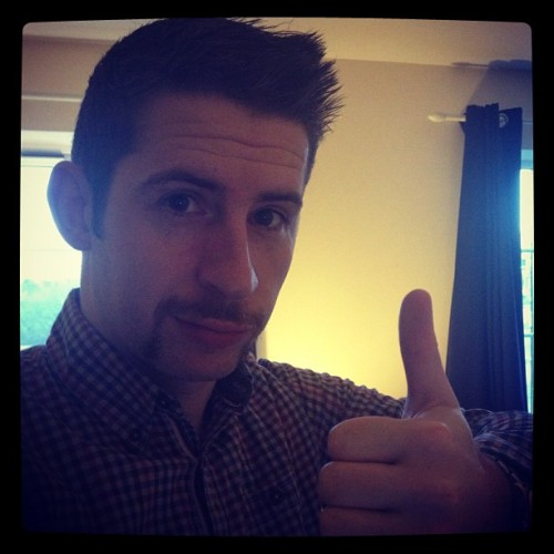 Thanks for the donations. #movember