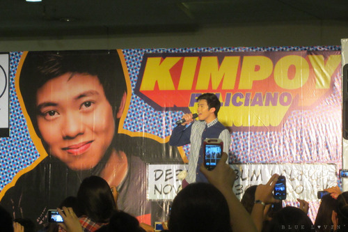 Kimpoy Feliciano album launch
