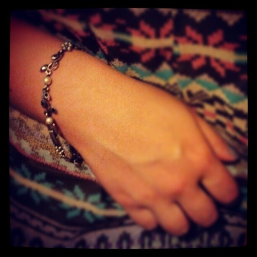 Thank you Kacey, it is a beautiful bracelet #accessories #jewellery #people