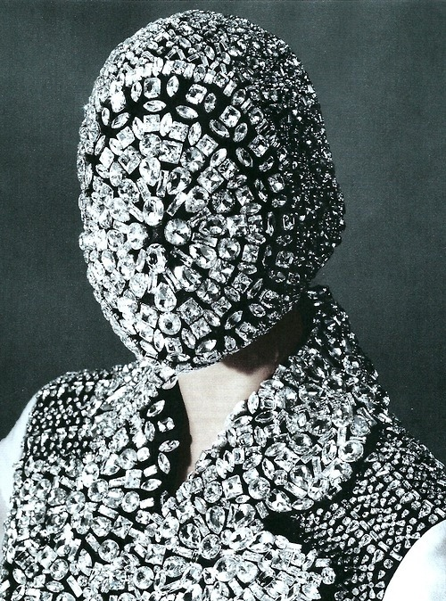 Maison Margiela. Harper's Bazaar October 2012 by Victor Demarchelier.
