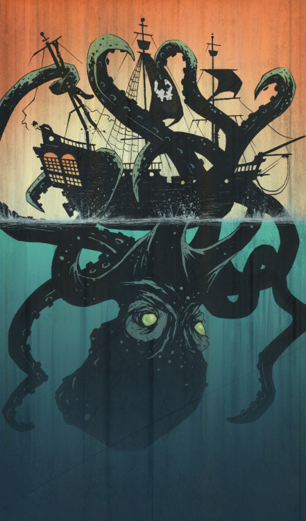 fer1972:  Octopus by Tyler Champion