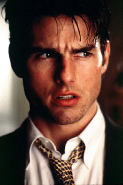 Watched Jerry Maguire last night, BEST MOVIE EVER. like for real. I couldn't stop watching it! But like an hour and a half into the movie i had to go somewhere for like 4 hours… It was killing me slowly not being able to finish a movie! Especially a Tom Cruise movie!  I mean, C'mon!!  But seriously, Best Movie EVER. :)