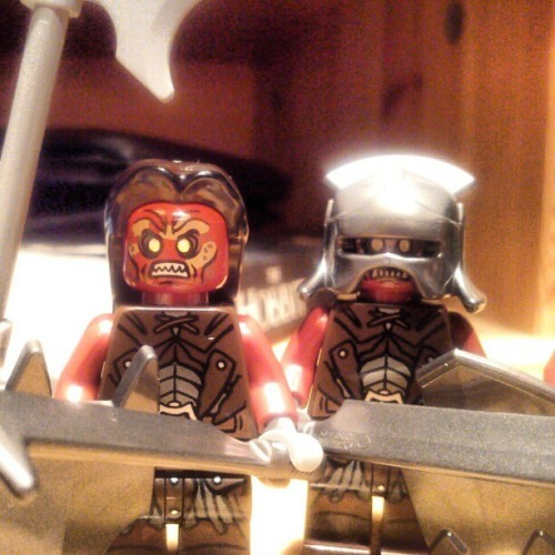 LEGO Uruk-Hai are the best Uruk-Hai