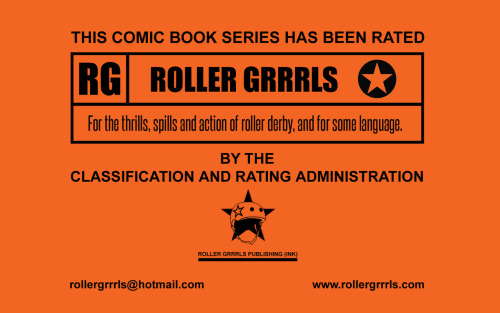 Our new Roller Grrrls title card. Enjoy!