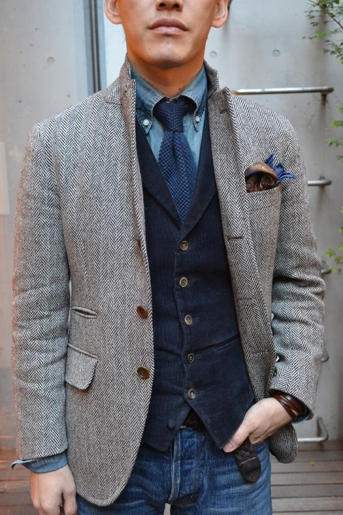 via downeastandout:  Layered up
