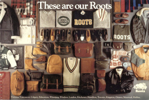 "rootscanada:  Vintage Roots: Taking you back to 1988 ""These are our Roots.""."