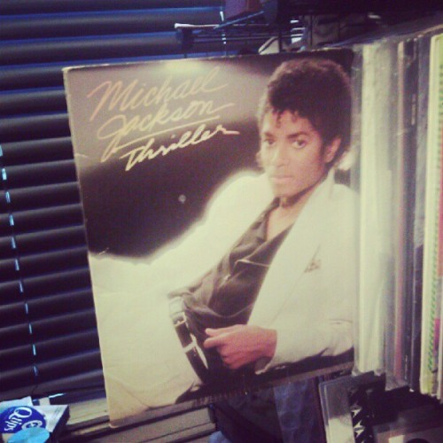 Man, me and #Thriller haven't aged a bit #30thAnniversary #LP #Vinyl #MP3 @MichaelJackson #PoP #Gary #Indiana ©1982 November 30th