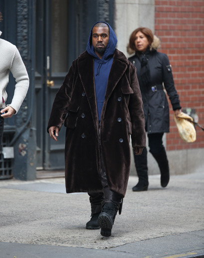 """Don't talk about style, 'cause I'll embarrass you."" gqfashion:  WTF, Kanye?"