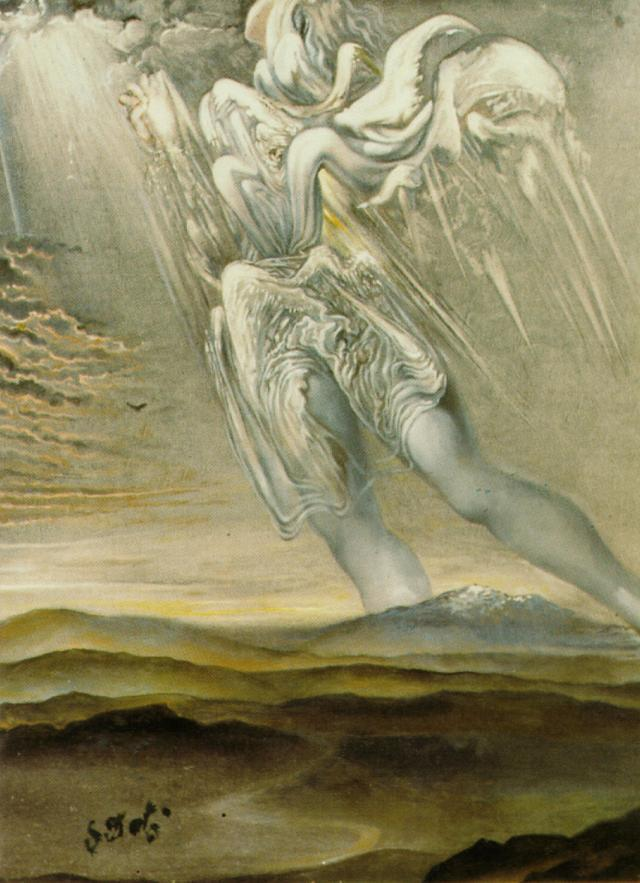 denisforkas:  Salvador Dali - Untitled. 1969