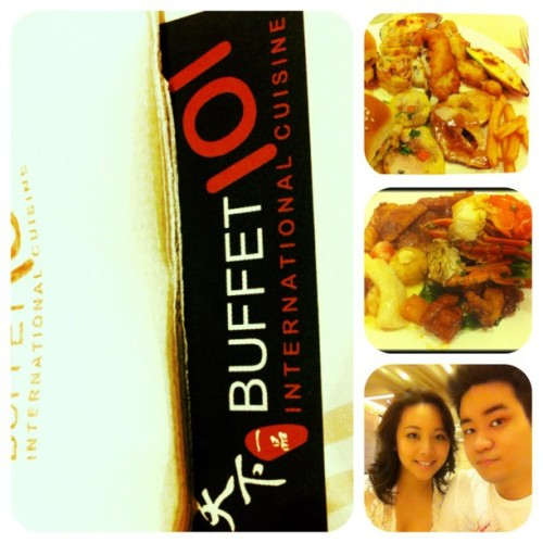 #picstitch #buffet101 #dinnerdate  (at Buffet 101)