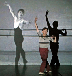 dancehistory:  Mikhail Baryshnikov in Andrea Mohin's Years Later