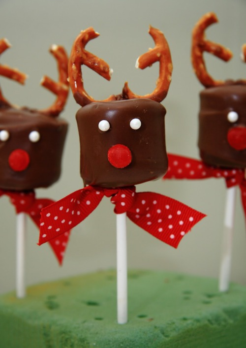 Reindeer Chocolate Marshmallows Tutorial