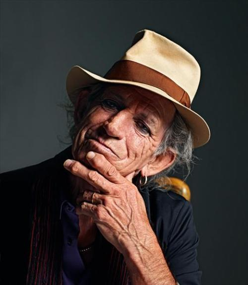 Keith Richards, Another Man A/W10 Photography Mario Sorrenti, styling Maryam Malakpour