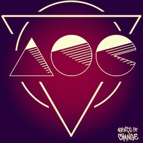 New geometric AOC logo by our MC, Buzzkill.