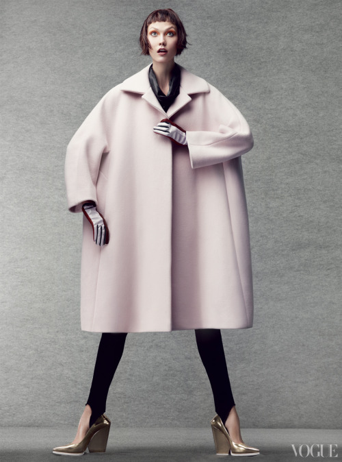 vogue:  From the Archives: Coats in Vogue Photographed by Craig McDean, Vogue, October 2012 See the slideshow